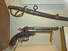 CSA officer's sidearm and sword