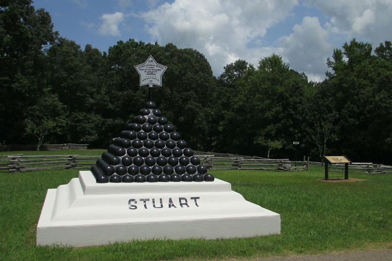 Colonel David Stuart - Headquarters, 2nd Brigade, 5th Division, U.S. Army of the Tennessee