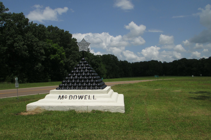 Colonel John D. McDowell - Headquarters, 1st Brigade, 5th Division, U.S. Army of the Tennessee