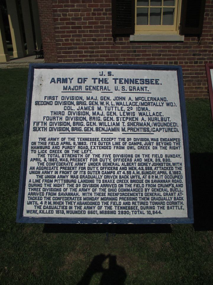 U.S. Army of the Tennessee - Major General Ulysses S. Grant, Commanding