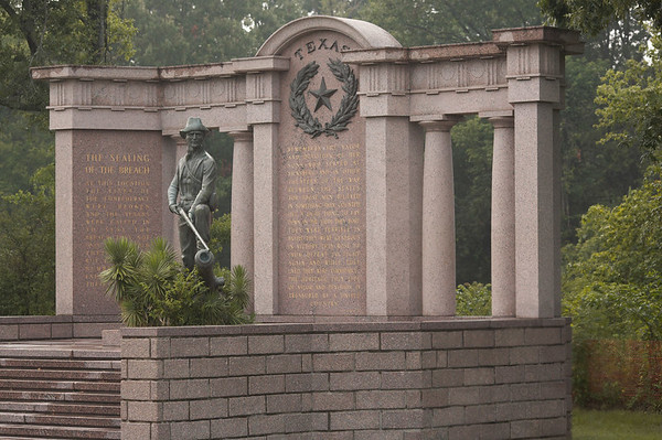 The Texas Memorial at Vicksburg National Military Park.