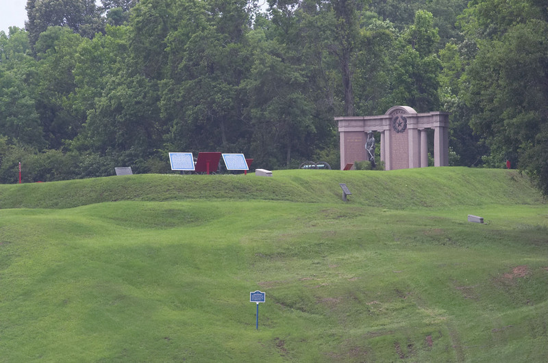 The Texas Memorial at Vicksburg National Military Park