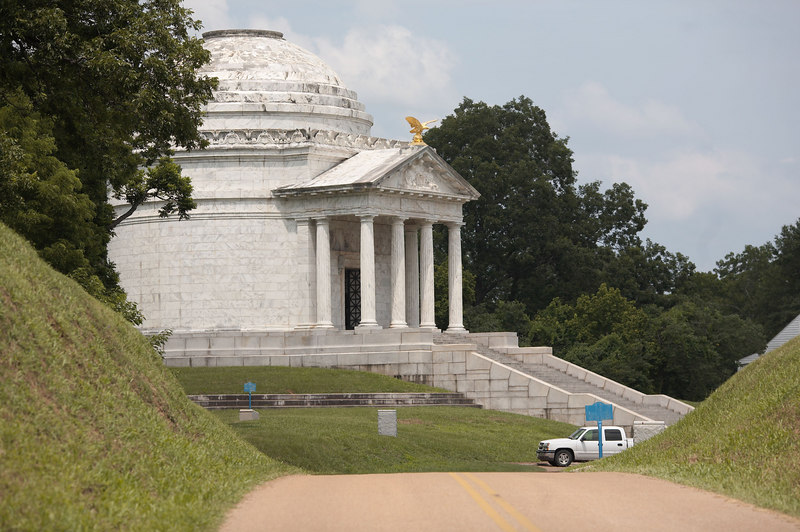 The Illinois Memorial at Vicksburg National Military Park.