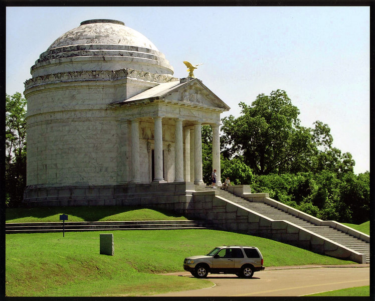 Illinois Memorial at Vicksburg National Military Park, in Mississippi.