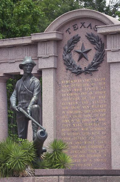 The Texas Memorial at Vicksburg National Military Park
