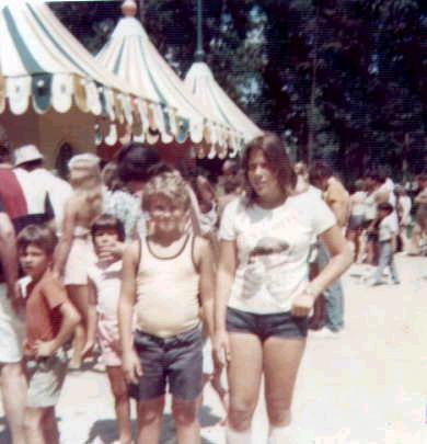 old Great Adventure admission booths in 1975