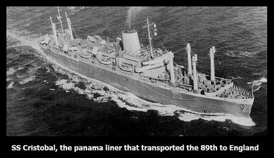 SS CRISTOBAL, PANAMANIAN TROOP TRANSPORT