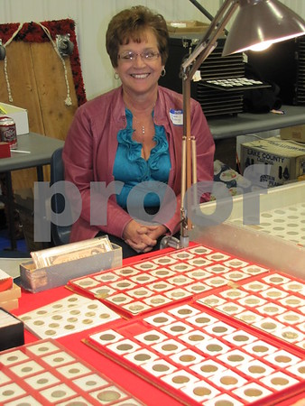 Carol Moberg is the secretary of the Fort Dodge Coin Club.