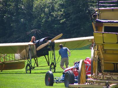 Race 4 - Bleriot Type XI Flying Machine vs. 1908 Stanley Steamer Model F vs. 1914 Stutz Bearcat (winner)