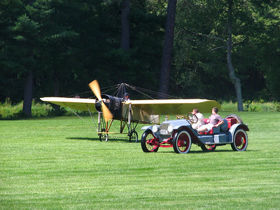 Race 4 - Bleriot Type XI Flying Machine vs. 1908 Stanley Steamer Model F vs. 1914 Stutz Bearcat (winner)