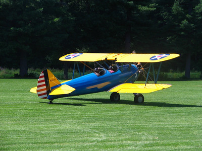 Race 5 - 1942 PT-17 Stearman Bi-plane