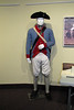 uniform of a soldier in the Continental Army circa 1777.