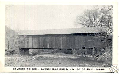 Colrain Lyonsville Covered Bridge 2
