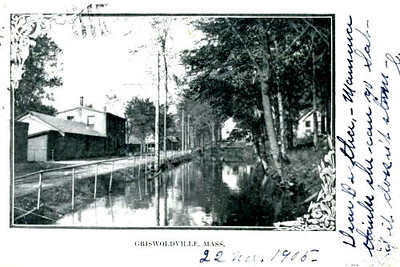 Colrain (Griswoldville) Canal 1905