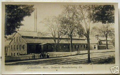 Griswoldville (Colrain) Mfg Co