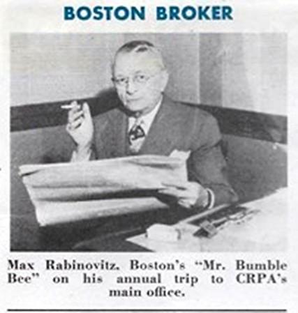1946 CRPA Main Office Astoria Oregon Boston Broker Annual Trip Max Rabinovitz