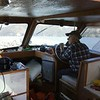Clarence Demase 91 yrs young fishing Columbia River
