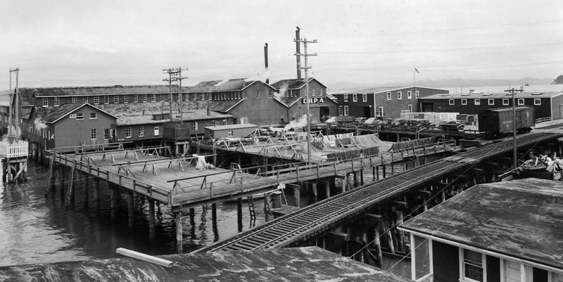 CRPA  Elmore Cannery Astoria 1930's Later Bumble Bee