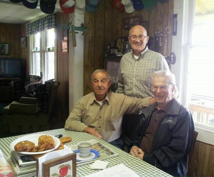 Clarence Demase  Jack Marincovich  Sam Soter  Clifton Oregon 2015