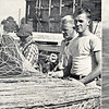 Union Fish Cannery,Astoria Early 1940's,Middle,Arvid Severson,right,Martin Severson,Columbia R