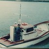Auwa  Built 1948 Altoona by Gunnar Hermiston  Capt Larry Olson  Columbia River Astoria Headed out for Low Water