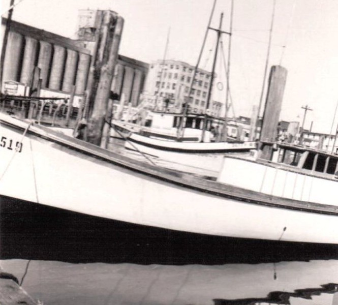 Built By Karlo Karna For his Father Jack Karna For Alaska Around 1950 Pic taken union town basin,,,,bowpicker Astoria