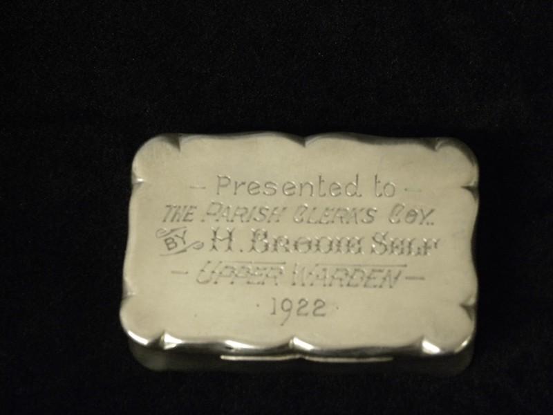 20 Snuff box 1914-Harry Brodie Self