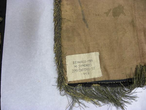 6a  Repair label 1921
