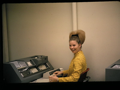 IBM 129 Key punch machine  http://en.wikipedia.org/wiki/Keypunch#IBM_129
