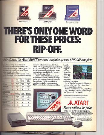 Atari 520ST computer