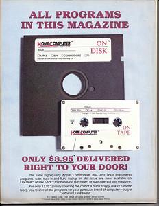 Programs often came on 5 /14 inch floppy disks or cassette tape.