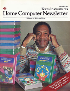 Bill Cosby ad about TI99/4a computers.