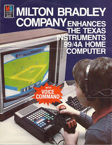 Voice recognition in the 1980's on a TI99/4a.