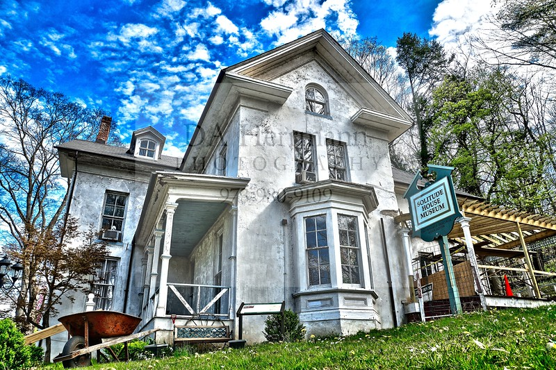 .. The Solitude House ..<br /> This amazing mansion was being restored by the tenant, Solitude House Museum & Union Forge Heritage Associate.  Sadly vacant since October 2012, it is falling to ruin by ways of the town's neglectful ways!<br /> <br /> High Bridge, Hunterdon County, New Jersey