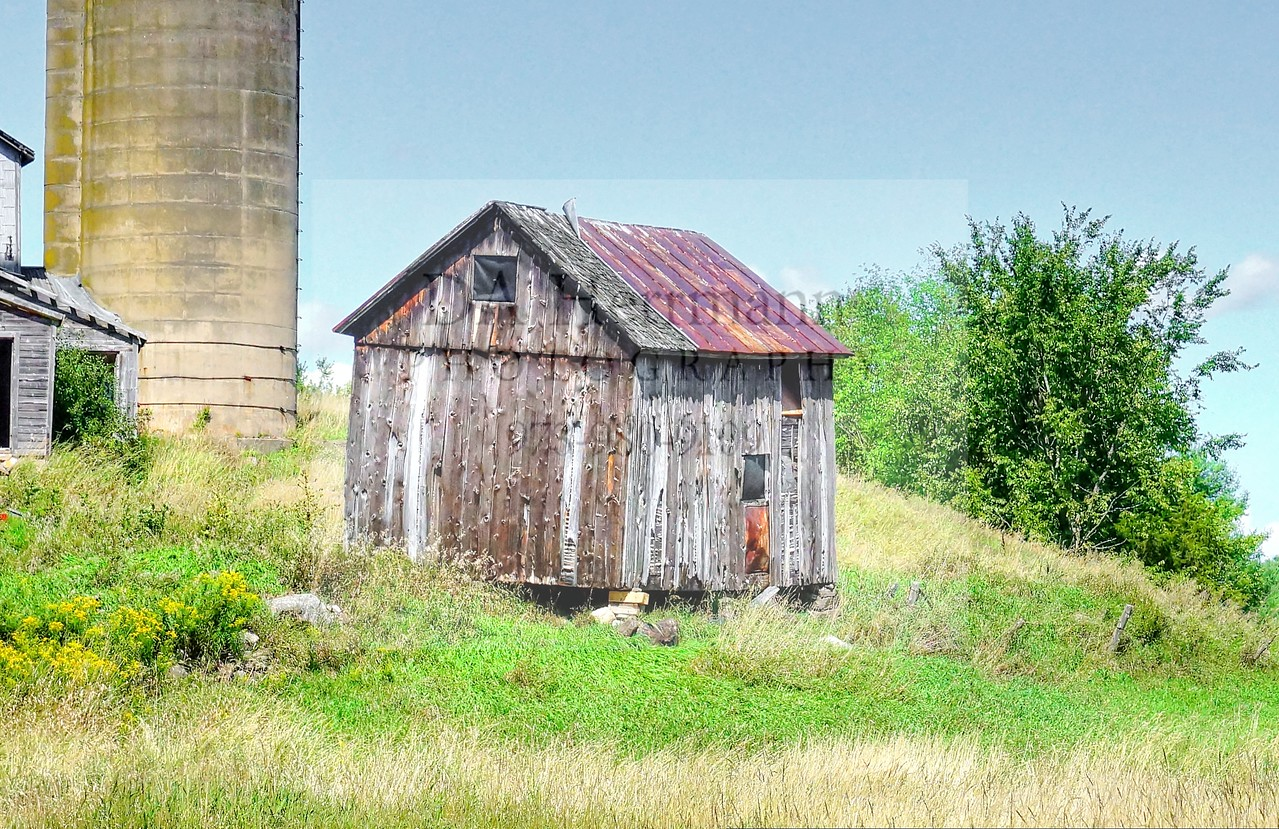 Farm Shed on Split Rock Road<br /> South Hammond, New York