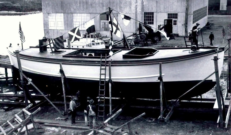 Invincible  CG52300 WMLB19  Constrution  Curtis Bay Maryland  1936