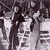 AMCCO  Shipyard  Astoria  1930's    Abraham  Abe  Elfving with Hammer