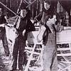 AMCCO  Shipyard  Astoria  1930's    Abraham  Abe  Elfving with Hammer