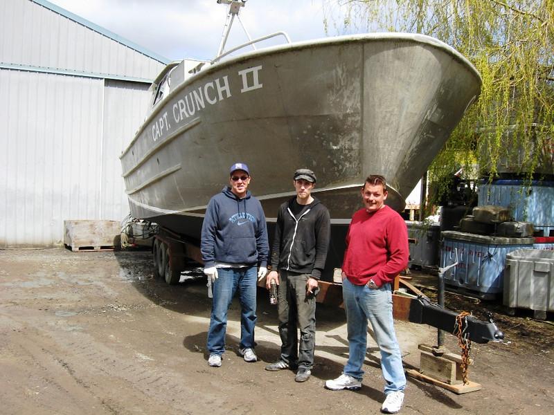 Dan Tarabochia,Matt Tarabochia,Darren Crookshanks,Capt  Crunch II,