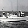 Invincible Built 1936 Curtis Bay Shipyard Maryland   1955 Mark Freeman Coxwain  CG 52300 Westport