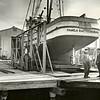 Pamela Rae  Magnus Marten  Odd Johansen  Howard Sagstad  March 1  1960  Sagstad Shipyard  Seattle
