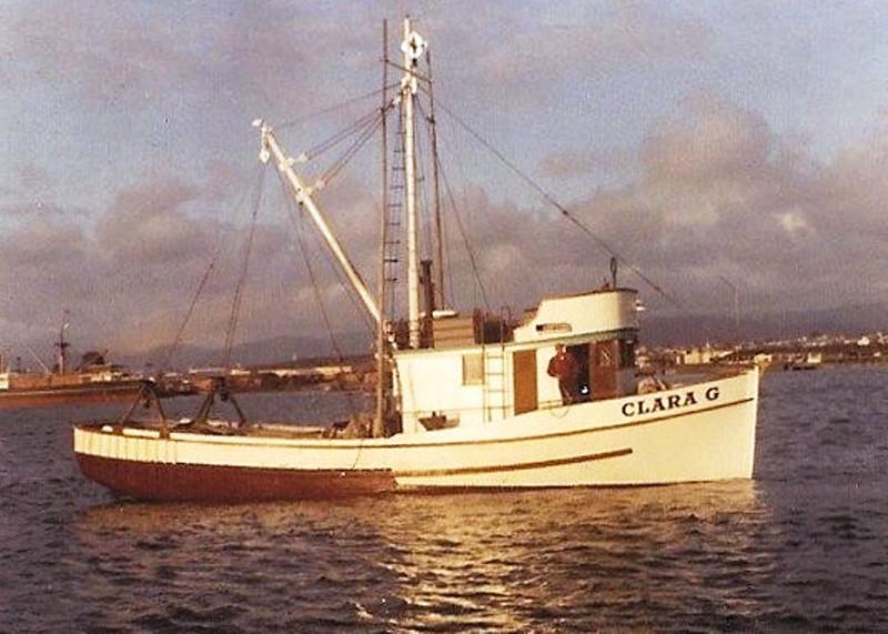 Clara G  Built 1947 Seattle  Arne Grotting  Pic Taken 1947 Eureka CA  Later Carrol Johnson  Gary  Gimle