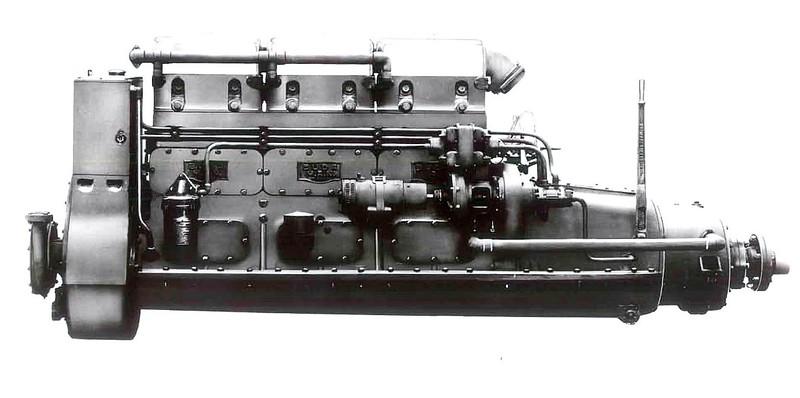 Invincible CG52300 WMLB7  Main Engine    Budda   1936