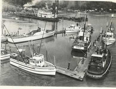 Virlou  Brejoh    Natooma  Buddy  Trask  Harold A  CRPA No 2    Buddy  Built 1919 Gig Harbor  Pic Taken  1945  CRPA  Shipyard  Astoria