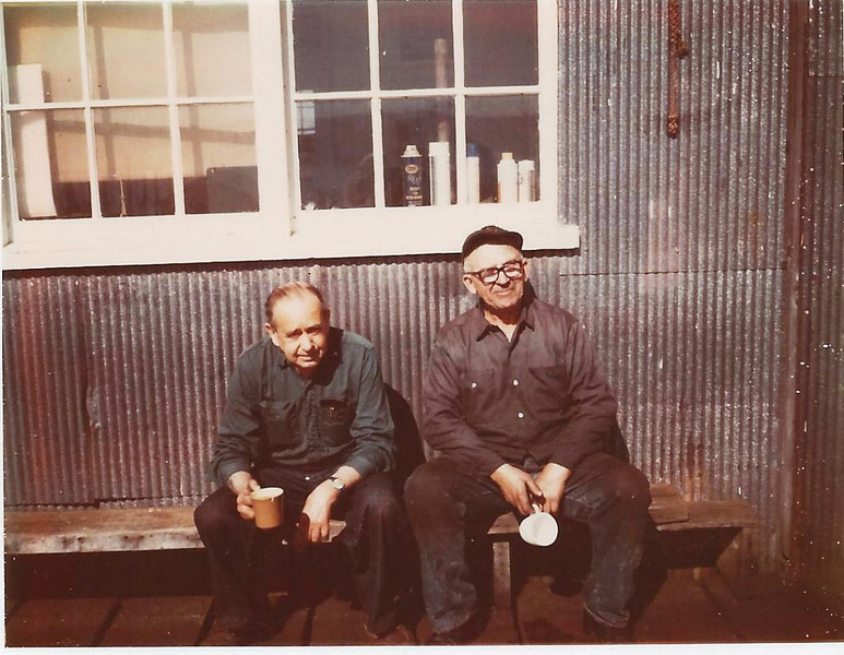 Bill Robbins,Art Ermandson,CRPA Shipyard Astoria,
