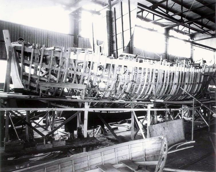 Invincible  Curtis Bay Shipyard  Maryland CG52300  WMLB16  Under Constrution
