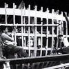 Invincible  CG52300 WMLB17  Ribbing   Curtis Bay Shipyard Maryland 1936