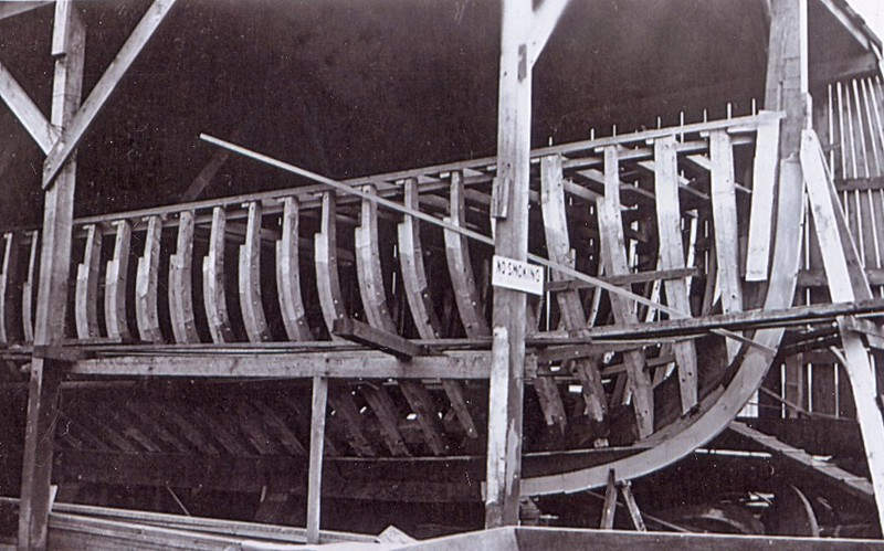 Ruth Ellen  1943 For  3 Brothers  Ray  Chester and   Wilburn  Hall  Builder Abe Elfving  Coos Bay Boat
