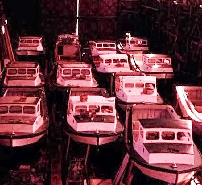 1960  CRPA  Shipyard  Astoria  Bristol Bay sternpickers  Bumble Bee