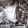 AMCCO Shipyard Astoria  Launching Potograph  YMS 137  Mine Sweeper  Calisto  March 19  1943